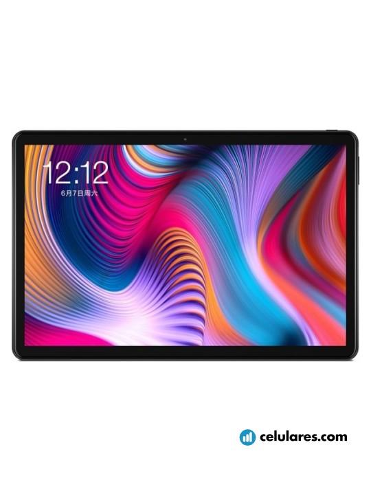 Fotografía grande Varias vistas del Tablet Teclast T30 Negro. En la pantalla se muestra Varias vistas